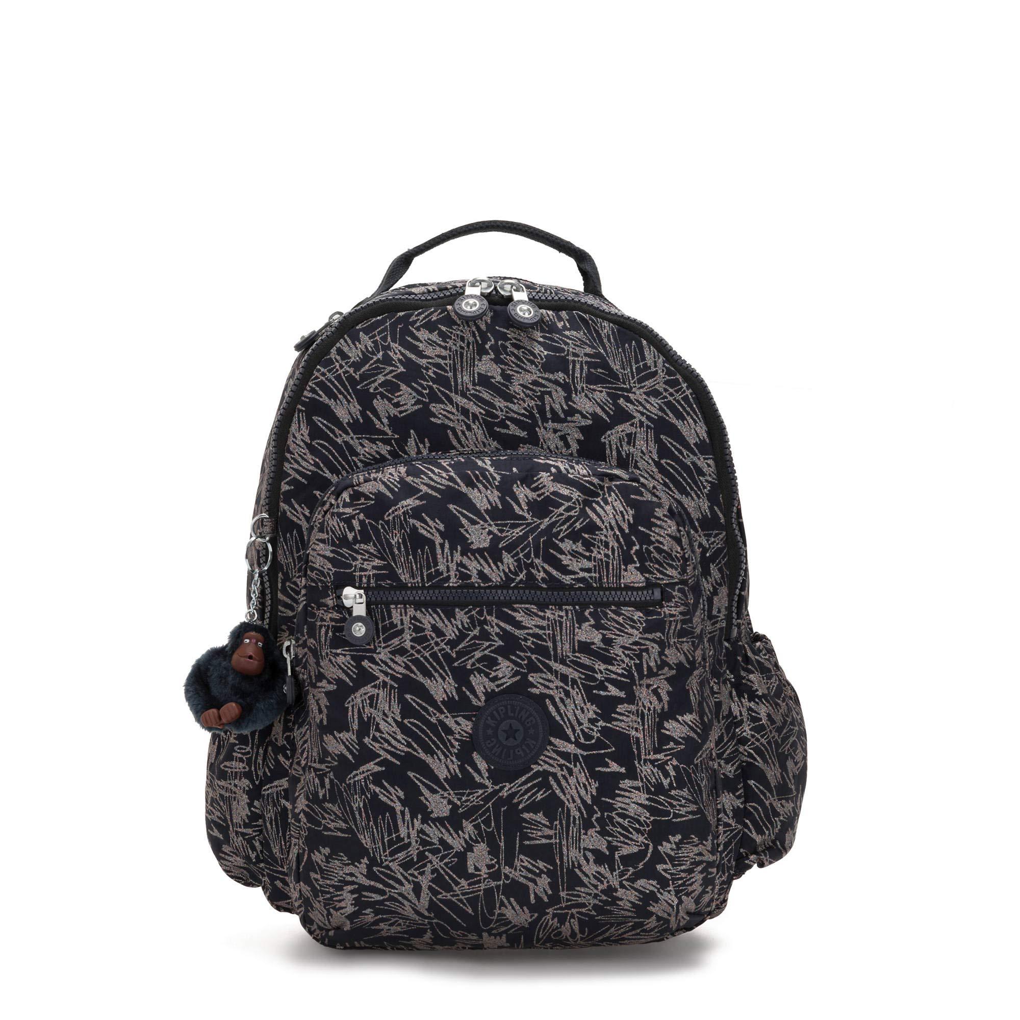 Kipling Seoul Go Large 15'' Laptop Backpack Vibrant Sketch by Kipling
