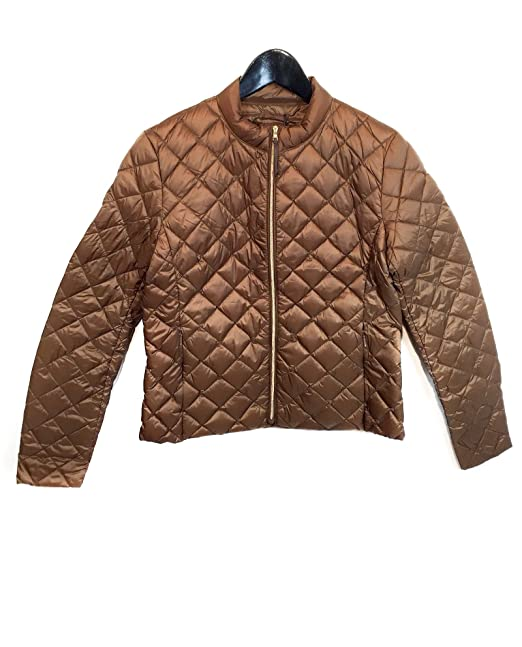 e58ef03a29 Massimo Dutti Women's Camel quilted jacket 6703/750 (X-Small ...