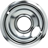 Whirlpool W10196406 6-Inch Drip Bowl, Chrome