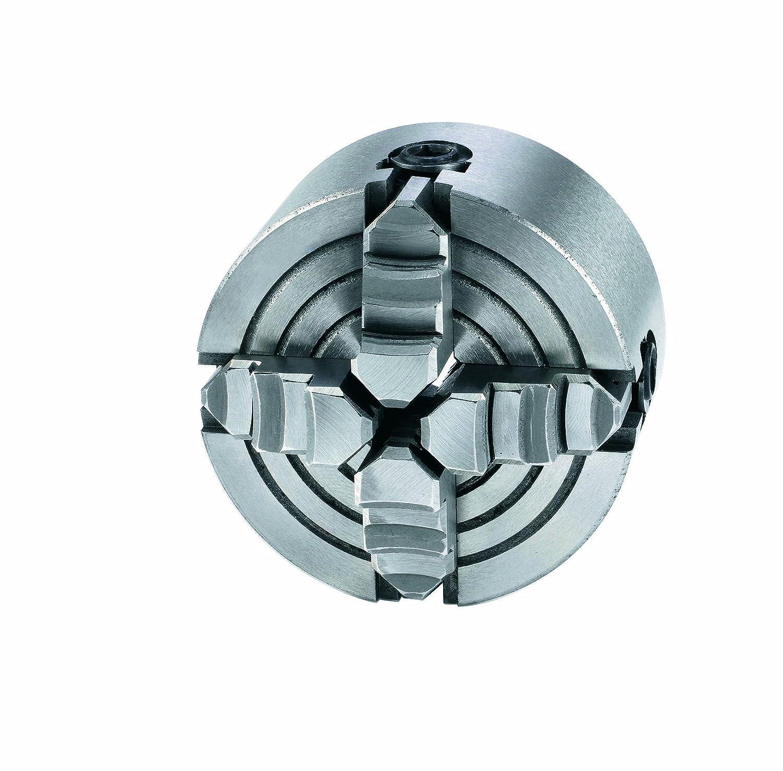 Einhell 4505023 - Mandril de torno con 4 mordazas, 80 mm, para modelos BT-ML 300, MTB 3002 Vierbackenfutter 80 mm Accesorio de fresado
