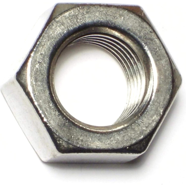7//8-9 Piece-4 Hard-to-Find Fastener 014973181420 Coarse Hex Nuts