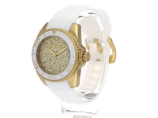 Amazon.com: Invicta Womens Angel Stainless Steel Quartz Watch with Silicone Strap, White, 20 (Model: 22703: Invicta: Watches