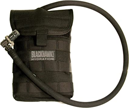 BlackHawk 65SH00CT Side Hydration Pouch Holds 40oz w//Speed Clips Coyote Tan