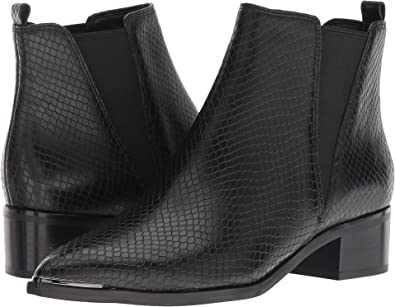 f6210ca42fd2d Marc Fisher LTD Women s Yale Black Leather Snake 5 ...