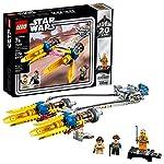 LEGO STAR WARS, Pod de Carreras de Anakin (Edición 20 Aniversario) 75258