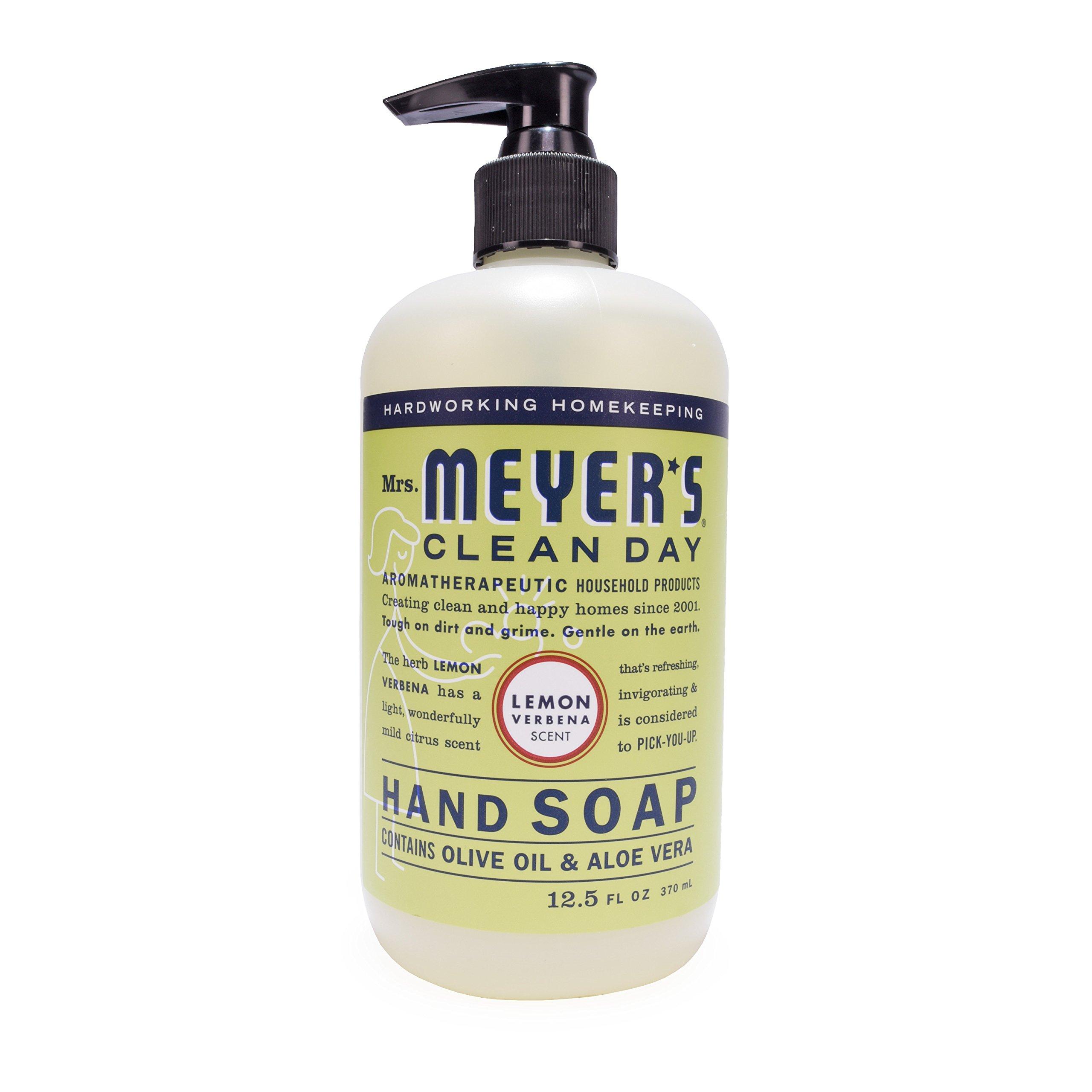 Mrs. Meyer's Clean Day Kitchen Basics Set, Lemon Verbena, 3 ct: Dish Soap (16 fl oz), Hand Soap (12.5 fl oz), Multi-Surface Everyday Cleaner (16 fl oz) by Mrs. Meyer's Clean Day (Image #6)