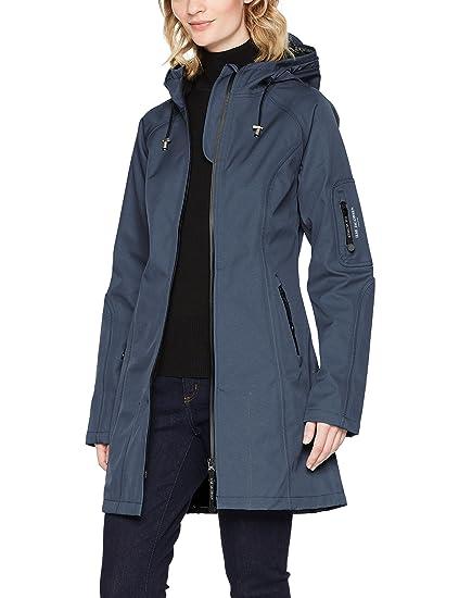 ILSE JACOBSEN Women's RAIN37 Rain Jacket, Blau (Salzblau 691), ...