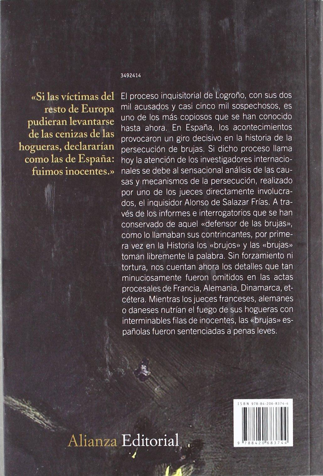 El abogado de las brujas: Brujería vasca e Inquisición española Alianza Ensayo: Amazon.es: Gustav Henningsen, Marisa Rey-Henningsen: Libros