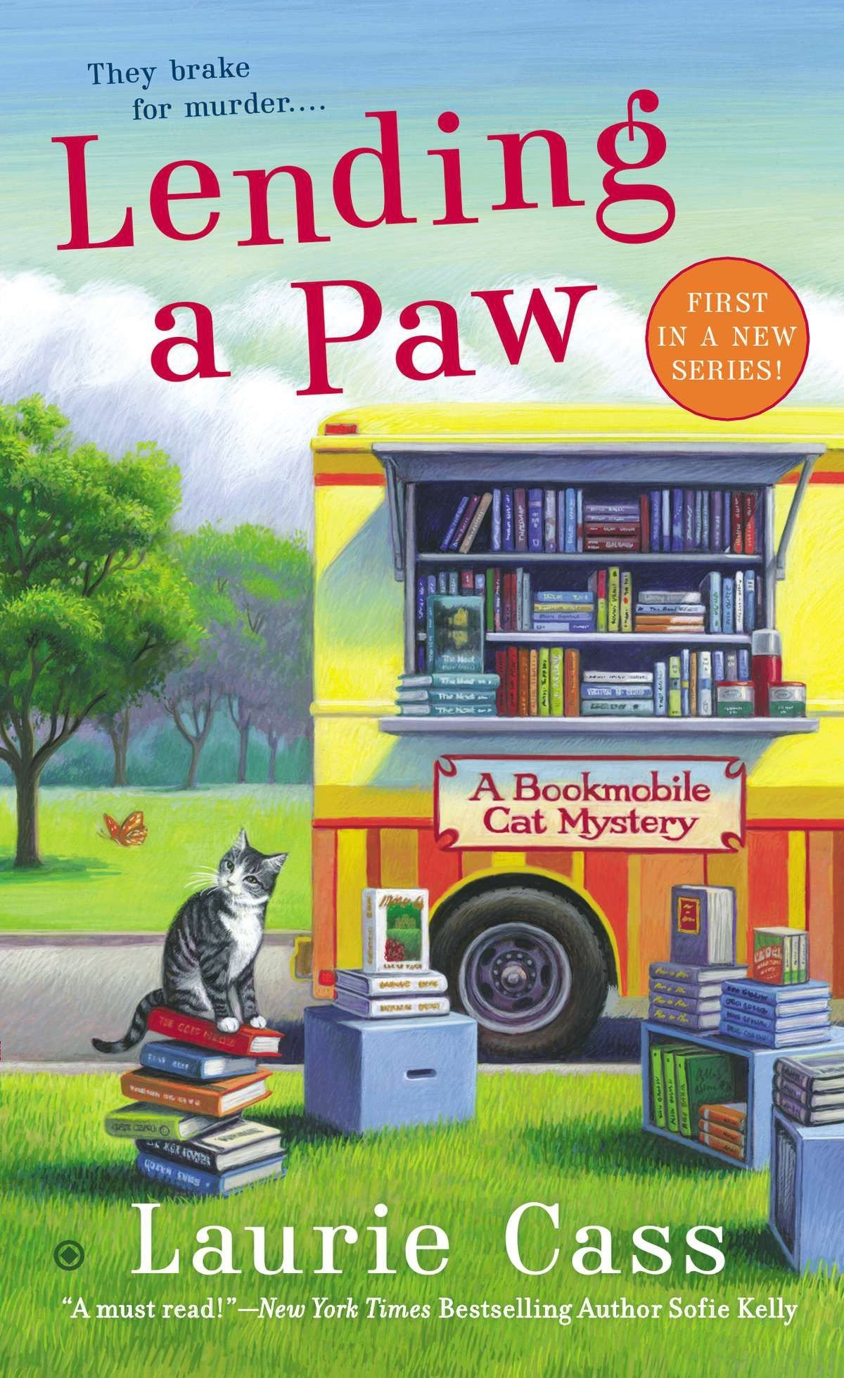 Download Lending a Paw: A Bookmobile Cat Mystery PDF