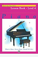 Alfred's Basic Piano Library - Lesson 4: Learn to Play with this Esteemed Piano Method Kindle Edition