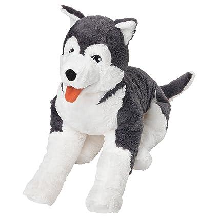 IKEA LIVLIG - perro de juguete suave / husky siberiano