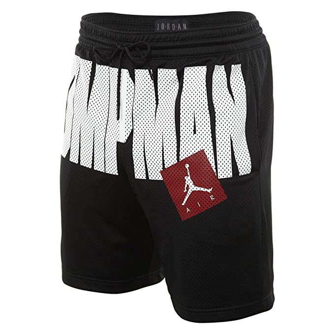 rivenditore all'ingrosso dc6b3 6bce9 Jordan Pantaloncini Sportswear Aj Jumpman Air Mesh nero ...