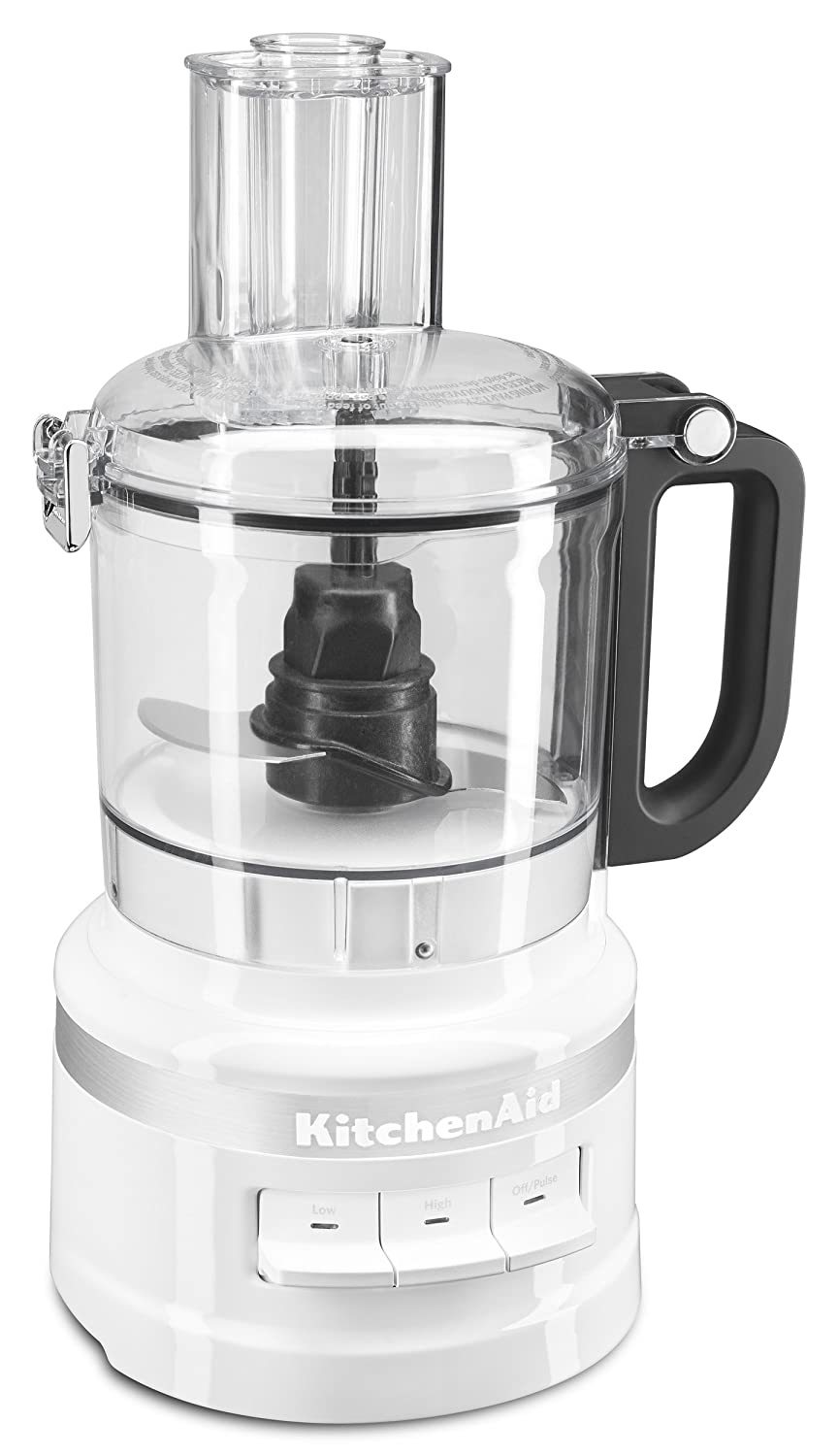 KitchenAid KFP0718WH 7-Cup Food Processor Chop, Puree, Shred and Slice - White