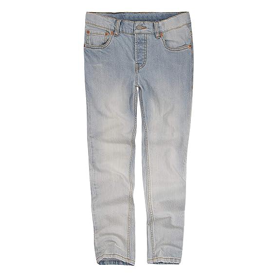 ff8b8973e Levi's Boys' Big 501 Skinny Fit Jeans, Abbot Kinney, 8: Amazon.co.uk ...
