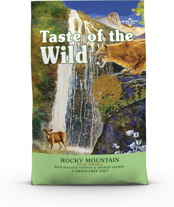 Taste Of The Wild pienso para gatos con Venado asado y Salmon ahumado 6,6kg Rocky Mountain