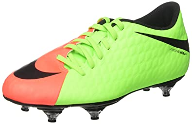 cheaper 088cb c631b Nike Hypervenom Phade III SG, Chaussures de Football Entrainement Homme,  Multicolore (Electric Green