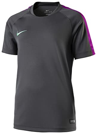 Nike Camiseta de fútbol niños Flash SS Top Gris 688425 – 021, niña, Color