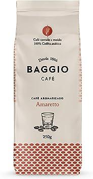 Baggio Aromas Amaretto moído 250g Baggio Café Sabor Amêndoa
