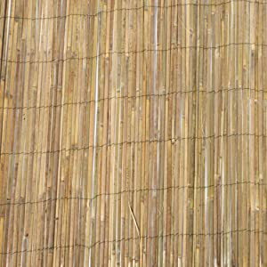 Master Garden Products SBF-96 Bamboo Slat Fence, 6'H x 14'L, Beige