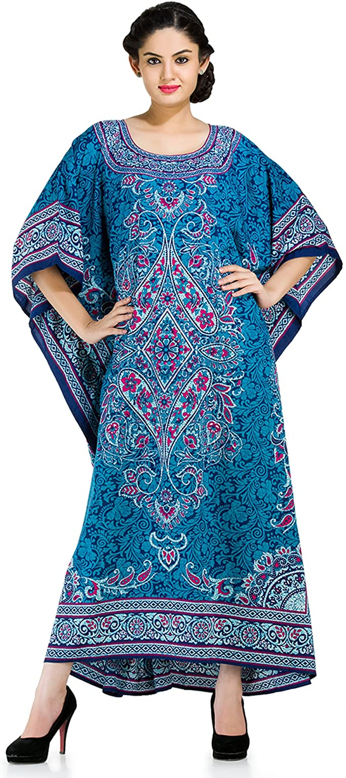 Tunic Long Maxi Plus Size Kaftan Dress