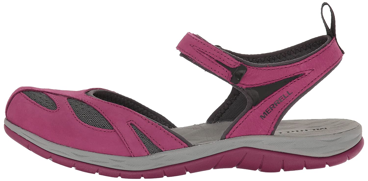 Merrell Women's Siren Wrap Q2 Athletic Sandal B01HGW69VS 10 B(M) US|Beet Red