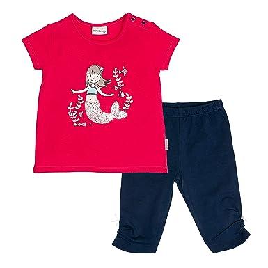 SALT AND PEPPER Baby-M/ädchen B Wild Uni Stick T-Shirt