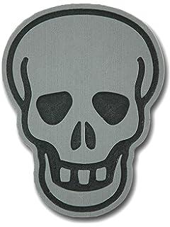 Gray ToeJamR Snowboard Stomp Pad Tatoo Skull