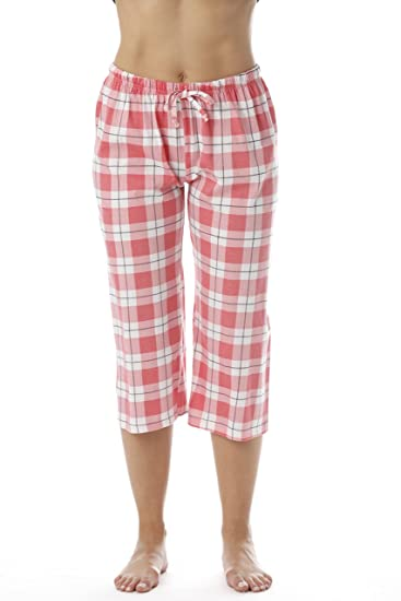 d9203ede8 Just Love 100% Cotton Women Pajama Capri Pants Sleepwear at Amazon ...
