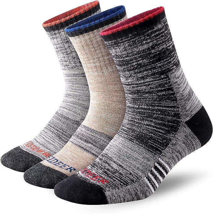 Unisex Mini Crew Socks For Hiking Athletic and Work Socks 8-10.5 Running