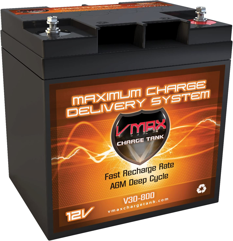 VMAX – V30-800 - Marine Battery for Trolling Motor