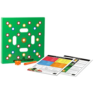 Seeding Square The Color-Coded Seed Spacer. Organizes and Optimizes Vegetable Gardens to Grow More Greens and Less Weeds. Gardening Made Simple!