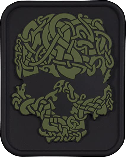 M-Tac Viking Moral Parches PVC 3D Calavera de el Castigador ...
