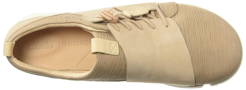 CLARKS B0754MVD45 Womens Tri Camilla Sneaker B0754MVD45 CLARKS 7 B(M) US|Sand Combi 250ed7