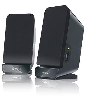speakers desktop. creative a60 (2.0) desktop speakers - black