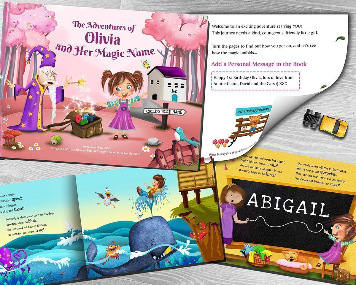 Amazon.com: Personalized Story Book for Kids - Totally Unique ...