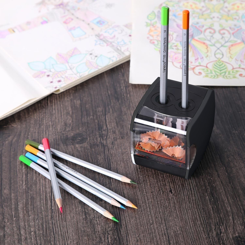 Spitzdose Zwei Löcher für Bleistifte bis zu 11 mm Doppel Spitzdose