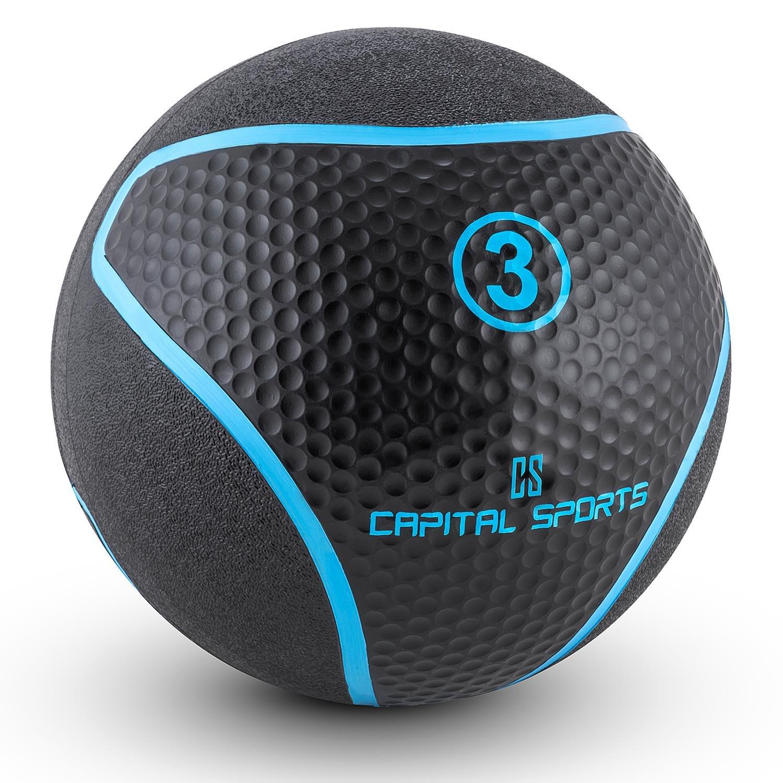 Capital Sports Medba 3 Balón medicinal 3kg (Adecuado para ...