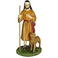 Figuras Belén: pastor con perro colección Martino Landi