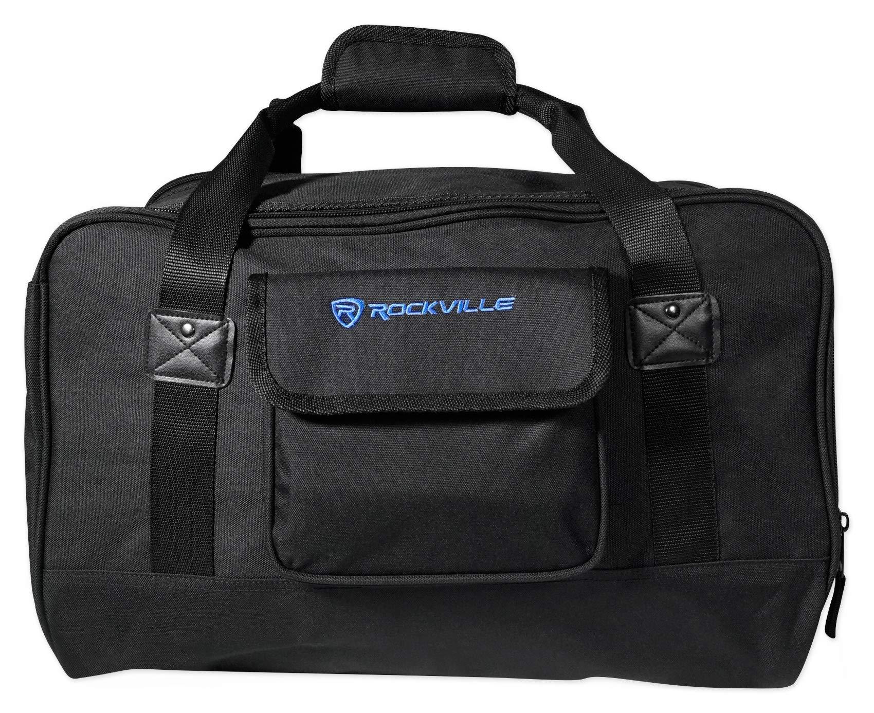 Rockville TB8 Lightweight Rugged Speaker Bag Carry Case for 8'' DJ PA Speakers