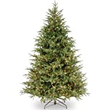National Tree Company 'Feel Real' Pre-lit Artificial Christmas Tree | Includes Pre-strung Multi-Color LED Lights and…