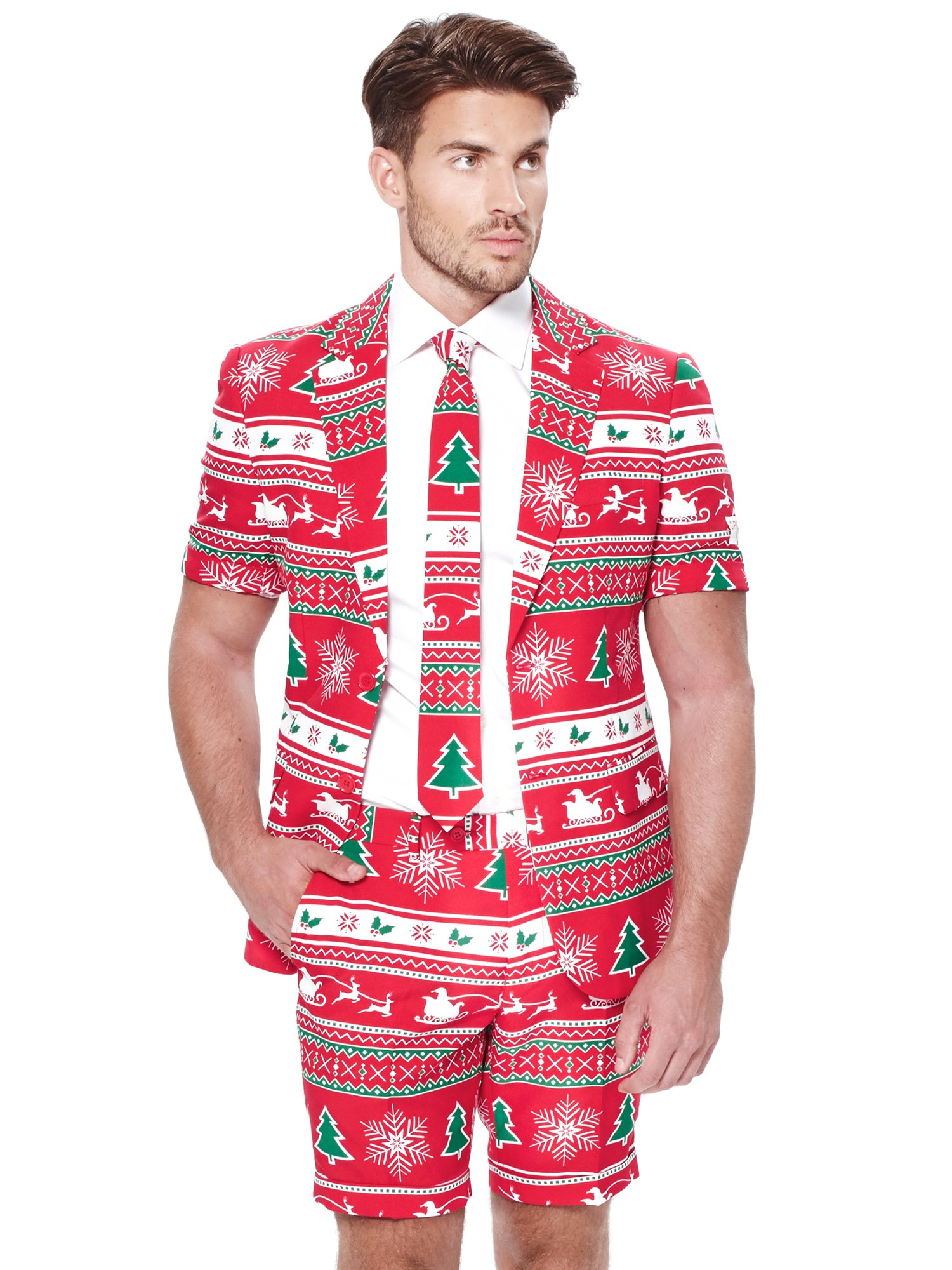 Mens SUMMER Winter Wonderland Suit and Tie By Opposuits 4e1abd1a6