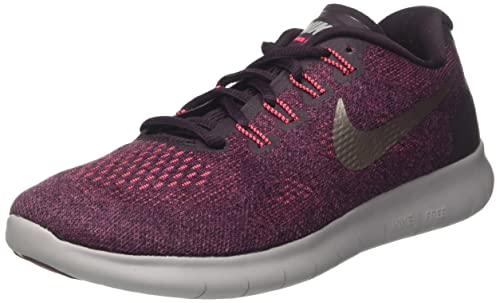 Nike Wmns Free RN 2017, Scarpe Running Donna, Rosso ...