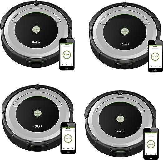 iRobot Roomba 690 Robot Aspirador con conectividad Wi-Fi y ...