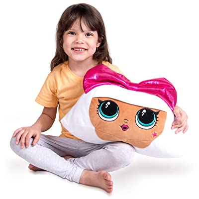 Franco Kids Bedding Super Soft Plush Cuddle Pillow Buddy, One Size, LOL Surprise Diva: Home & Kitchen