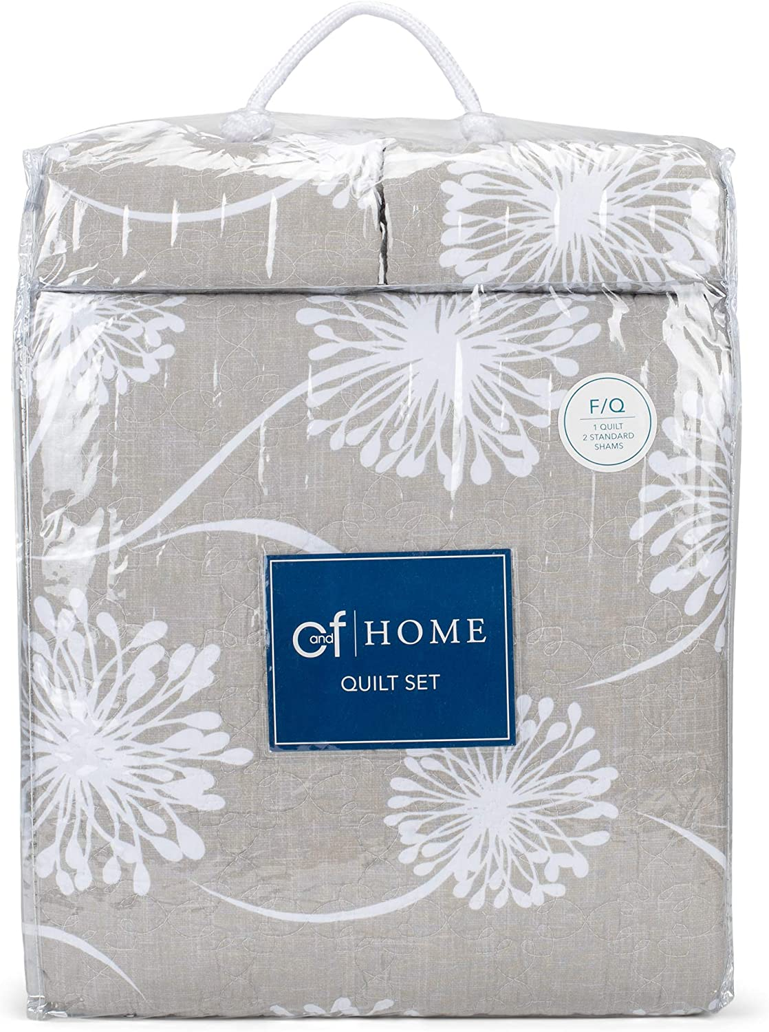 C&F Home 82451 Guinivere Quilt Set Mini Set Queen or Full Size Quilt 90 Inches X 92 Inches and 2 Standard Shams