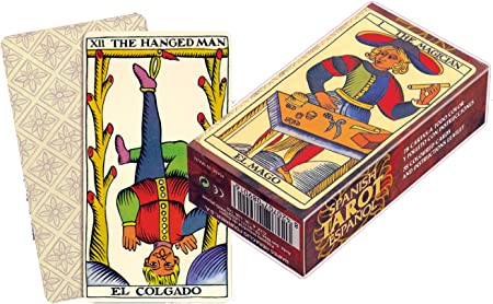 Fournier Español Baraja Tarot clásica de 78 Cartas, Color marrón (F21814): Amazon.es: Juguetes y juegos