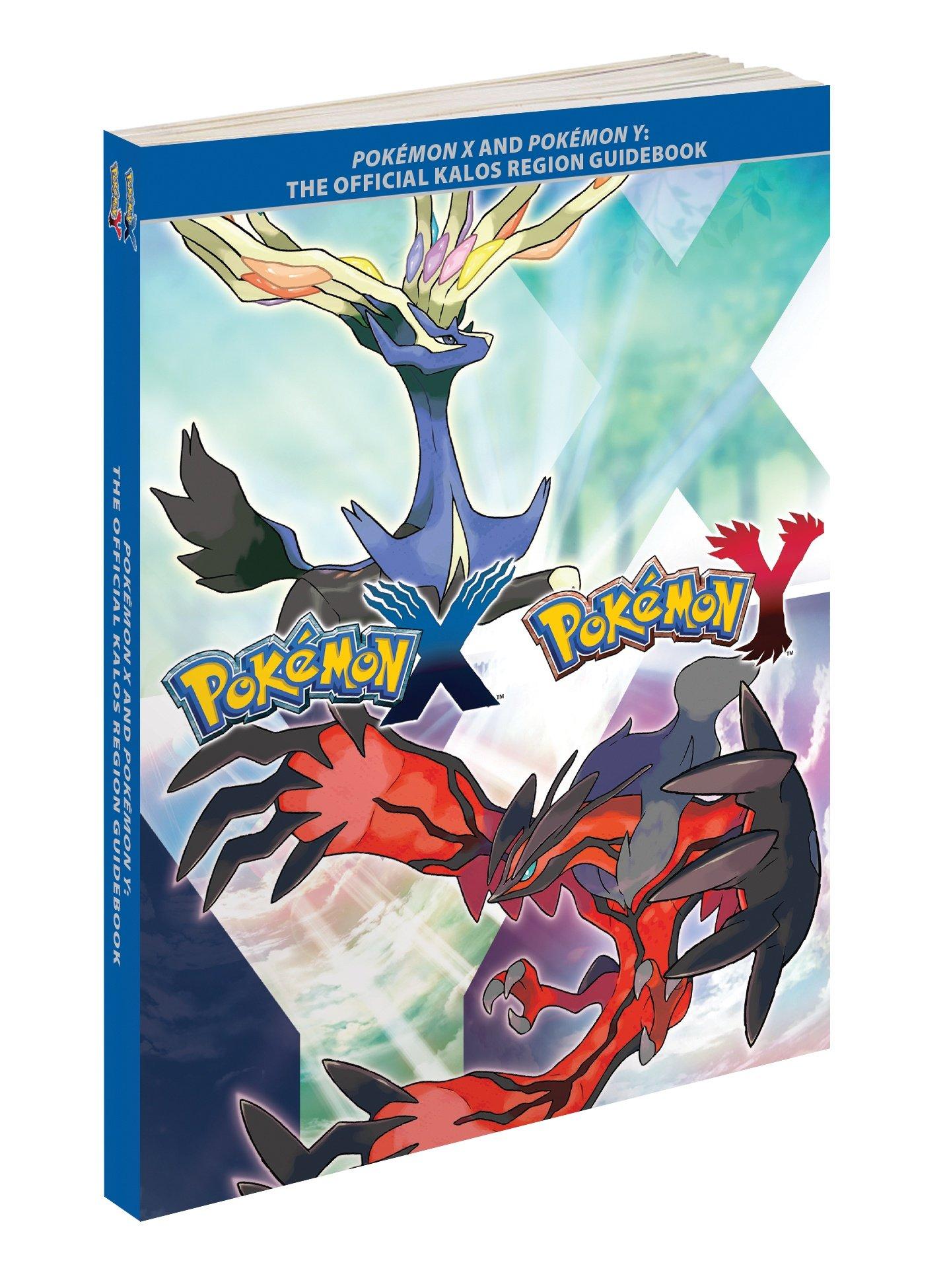 Pokemon X and Pokemon Y: The Official Kalos Region Guidebook : The Pokemon  Company International Inc: Amazon.de: Bücher