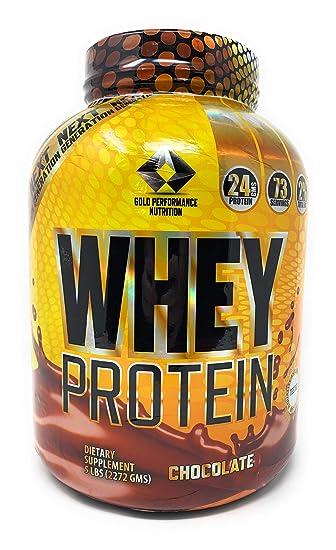Amazon.com: Oro Nutrición de rendimiento proteína de suero ...