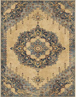"""product image for Orian Rugs Hamton Court Pale Blue 2'3""""x8'"""