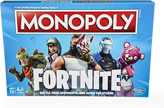 amazon com monopoly fortnite edition board game inspired by fortnite video game ages 13 and up toys games monopoly fortnite edition board game inspired by fortnite video game ages 13 and up